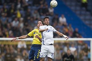 Benedikt R�cker (Br�ndby IF), Andrija Pavlovic (FC K�benhavn)