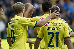 Andrew Hjulsager (Br�ndby IF), Teemu Pukki (Br�ndby IF)