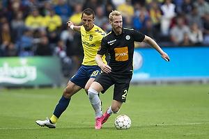 Kamil Wilczek (Br�ndby IF), Jonas Thorsen (Viborg FF)