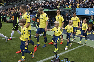 Andrew Hjulsager (Br�ndby IF), Teemu Pukki (Br�ndby IF), Svenn Crone (Br�ndby IF)