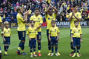 Teemu Pukki (Br�ndby IF), Andrew Hjulsager (Br�ndby IF), Lebogang Phiri (Br�ndby IF), Christian N�rgaard (Br�ndby IF)