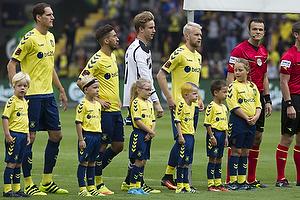 Benedikt R�cker (Br�ndby IF), Frederik Holst (Br�ndby IF), Frederik R�nnow (Br�ndby IF), Johan Larsson (Br�ndby IF)