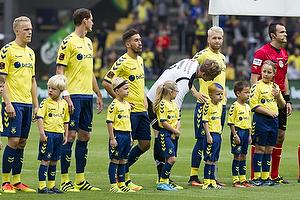Hj�rtur Hermannsson (Br�ndby IF), Benedikt R�cker (Br�ndby IF), Frederik Holst (Br�ndby IF), Frederik R�nnow (Br�ndby IF), Johan Larsson (Br�ndby IF)
