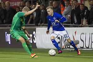 Hj�rtur Hermannsson (Br�ndby IF), Bror Blume (Lyngby BK)