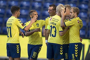 Andrew Hjulsager (Br�ndby IF), Hany Mukhtar (Br�ndby IF), Kamil Wilczek (Br�ndby IF), Johan Larsson (Br�ndby IF), Teemu Pukki (Br�ndby IF)