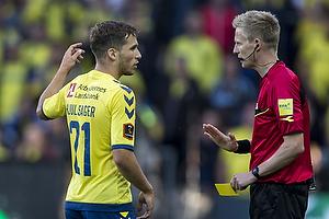 Andrew Hjulsager (Br�ndby IF), J�rgen Daugbjerg Burchardt, dommer