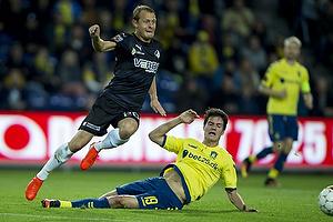 Christian N�rgaard (Br�ndby IF), Joel Allansson (Randers FC)