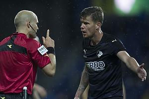 Mads Agesen (Randers FC), Peter Kj�rdgaard-Andersen, dommer