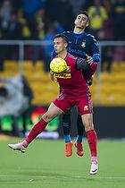 Svenn Crone (Br�ndby IF), Marcus Ingvartsen (FC Nordsj�lland)