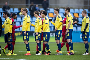 Marco Danilo Ure�a (Br�ndby IF), Christian Jakobsen (Br�ndby IF), Gustaf Nilsson (Br�ndby IF), Martin Albrechtsen (Br�ndby IF)
