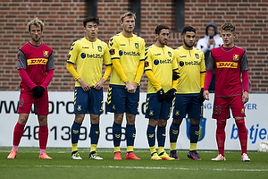 Rezan Corlu (Br�ndby IF), Frederik Holst (Br�ndby IF), Christian Jakobsen (Br�ndby IF)