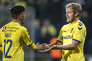 Frederik Holst (Br�ndby IF), Teemu Pukki (Br�ndby IF)