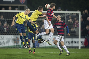 Johan Larsson (Br�ndby IF), Martin Albrechtsen (Br�ndby IF)