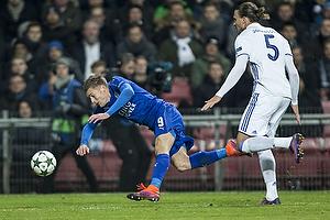 Jamie Vardy (Leicester FC), Erik Johansson (FC K�benhavn)