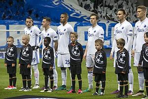 Federico Santander (FC K�benhavn), Mathias Zanka J�rgensen (FC K�benhavn), Benjamin Verbic (FC K�benhavn)