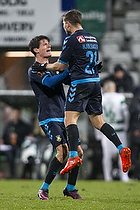 Christian N�rgaard (Br�ndby IF), Andrew Hjulsager (Br�ndby IF)
