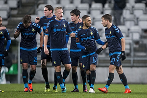 Hj�rtur Hermannsson (Br�ndby IF), Christian N�rgaard (Br�ndby IF), Hany Mukhtar (Br�ndby IF), Andrew Hjulsager (Br�ndby IF)
