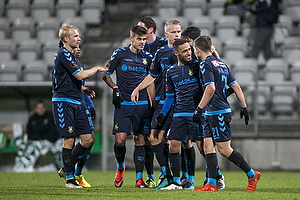 Andrew Hjulsager, m�lscorer (Br�ndby IF), Hany Mukhtar (Br�ndby IF), Jan Kliment (Br�ndby IF)