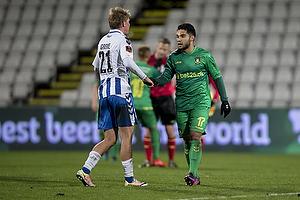 Rezan Corlu (Br�ndby IF), Mathias Greve (Ob)
