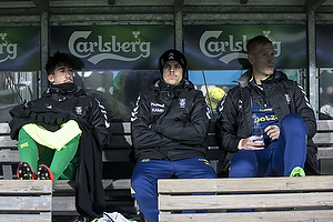 Frederik Holst (Br�ndby IF), Jan Kliment (Br�ndby IF), Andreas Hansen (Br�ndby IF)