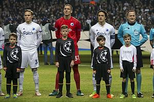 Ludwig Augustinsson (FC K�benhavn), Robin Olsen (FC K�benhavn), Thomas Delaney, anf�rer (FC K�benhavn)