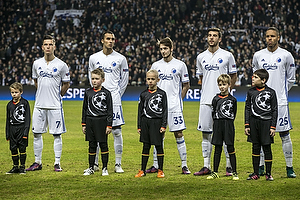 Benjamin Verbic (FC K�benhavn), Youssef Toutouh (FC K�benhavn), Rasmus Falk (FC K�benhavn), Mathias Zanka J�rgensen (FC K�benhavn)