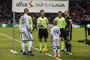 Mathias Zanka J�rgensen (FC K�benhavn), Mikkel Rask (Viborg FF), Anders Poulsen, dommer