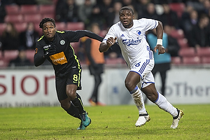 Jores Okore (FC K�benhavn), George Fochive (Viborg FF)