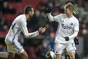 Kasper Kusk, m�lscorer (FC K�benhavn), Youssef Toutouh (FC K�benhavn)