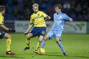 Johan Larsson (Br�ndby IF), Nicolai Poulsen (Randers FC)