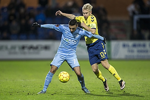 Edgar Babayan (Randers FC), Johan Larsson (Br�ndby IF)