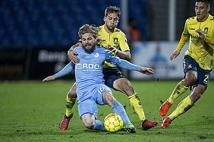 Kasper Fisker (Randers FC), Andrew Hjulsager (Br�ndby IF)