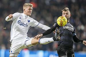 Andreas Cornelius (FC K�benhavn), Mads Fenger (Randers FC)