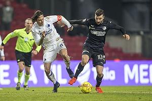 Thomas Delaney, anf�rer (FC K�benhavn), Mikael Ishak (Randers FC)