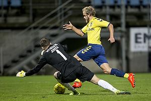 Teemu Pukki (Br�ndby IF), Jonas Jensen (Esbjerg fB)