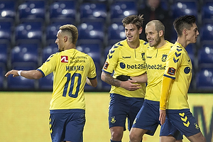 Teemu Pukki (Br�ndby IF), Jan Kliment (Br�ndby IF), Hany Mukhtar (Br�ndby IF)