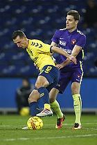 Kamil Wilczek (Br�ndby IF), Jonas Borring (FC Midtjylland)