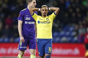 Hany Mukhtar (Br�ndby IF), Jonas Borring (FC Midtjylland)