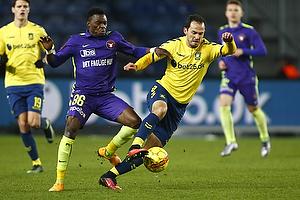 Marco Danilo Ure�a (Br�ndby IF), Rilwan Hassan (FC Midtjylland)