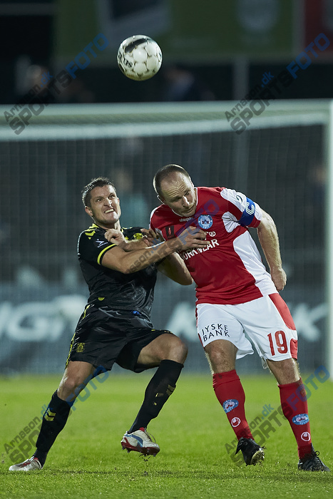 Jan Kristiansen (Br�ndby IF), Henrik T�mrer Pedersen (Silkeborg IF)