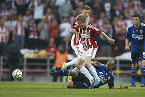 Kasper Kusk (Aab), Daniel Omoya Braater (FC K�benhavn)