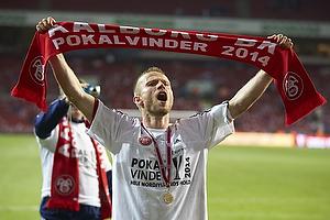 Rasmus W�rtz, anf�rer (Aab) med medalje