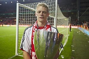 Kasper Kusk (Aab) med pokalen