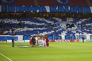 FCK-fans med tifo
