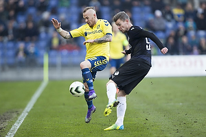 Magnus Eriksson (Br�ndby IF), Mads Agesen (Randers FC)