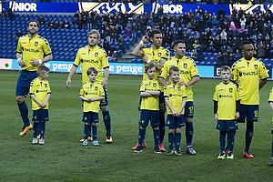 Johan Elmander (Br�ndby IF), Teemu Pukki (Br�ndby IF), David Boysen (Br�ndby IF), Riza Durmisi (Br�ndby IF), Lebogang Phiri (Br�ndby IF)