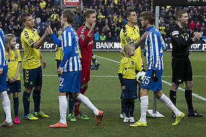 Jesper Lindorff Juelsg�rd (Br�ndby IF), Frederik R�nnow (Br�ndby IF), Daniel Agger, anf�rer (Br�ndby IF)