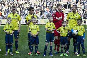 Jesper Lindorff Juelsg�rd (Br�ndby IF), Frederik Holst (Br�ndby IF), Frederik R�nnow (Br�ndby IF), Thomas Kahlenberg (Br�ndby IF)
