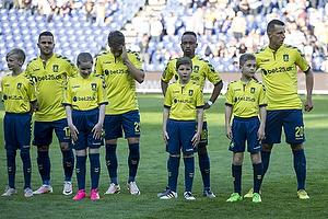 Riza Durmisi (Br�ndby IF), Andrew Hjulsager (Br�ndby IF), Lebogang Phiri (Br�ndby IF), Kamil Wilczek (Br�ndby IF)