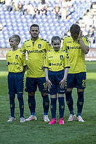 Riza Durmisi (Br�ndby IF), Andrew Hjulsager (Br�ndby IF)